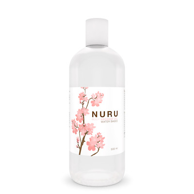 Nuru - Gel Da Massaggio 500 Ml - Per Massaggio Nuru Corpo A Corpo - Intimateline