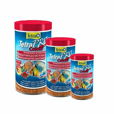 Tetra Pro Colour Tropical Aquarium Fish Food Crisp Colouring Enhance Daily Diet