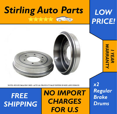 PAIR OF 2 REAR BRAKE DRUMS & SHOES Fits Jeep Cherokee,Wrangler,TJ 80002