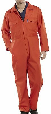 "Click Workwear Boilersuit Orange Size 40"" PCBSOR40"