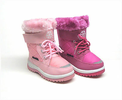 Brand New Toddler Girl's Winter Snow Boots Size 6 - 11