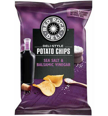 Red Rock Chip Sea Salt and Vinegar 45g x 18