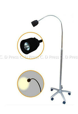 US 35W JD1500 Floorstanding Shadowless Medical Exam Lamp Halogen Light 110V