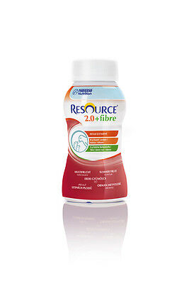 Resource 2.0 fibre Multifrucht, 24 x 200 ml, Trinknahrung