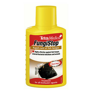 Tetra Aquarium Medica Fungistop 100Ml Fungus Bacteria Treatment Freshwater Fish
