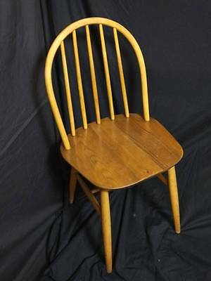 1 x SOLID OAK SPINDLEBACK KITCHEN / DINING CHAIR.