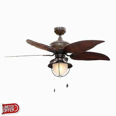 SALE Westinghouse Oasis 48 inch Indoor/Outdoor Oil Rubbed Bronze Ceiling Fan