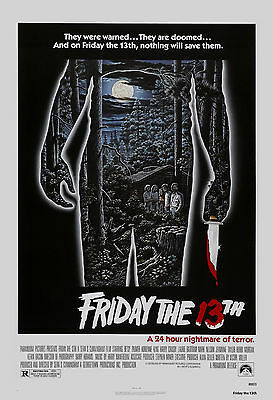 Horror: Friday the 13th  Movie Poster 1980