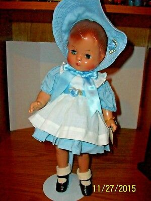 Effanbee Reproduction Hard Plastic Patsy Joan 15 inch Doll with Swing Tag