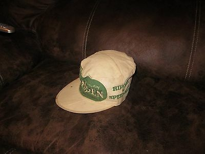 Vintage GLIDDEN Painter Cloth Hat Collectible Size 7 1/4 Americana Advertising