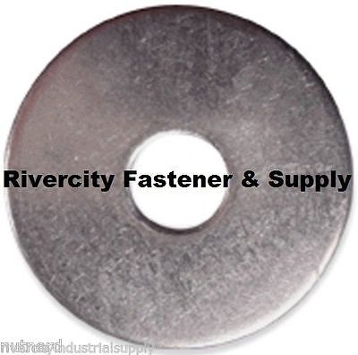 (100) M4 or 4mm 18-8 / A2 Stainless Steel Fender Washers Metric M4x12mm