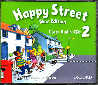 Oxford HAPPY STREET 2 Class Audio CDs New Edition (2009) @NEW & SEALED@