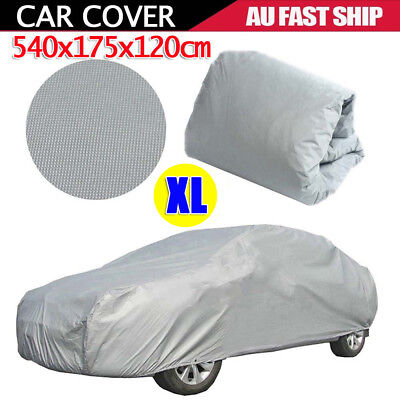 XL Large Full Car Cover Anti UV Dust Scratch Resistant Protection Waterproof AU