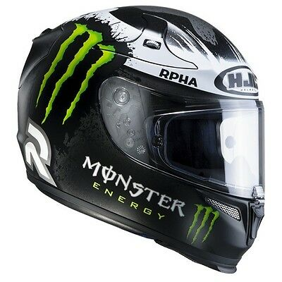 Casque HJC RPHA10 Plus LORENZO REPLICA GHOST FUERA