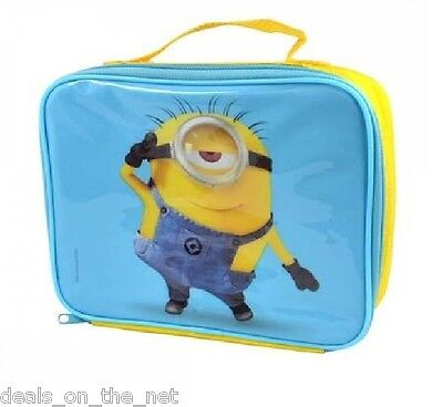 Despicable Me - Minions Insulated Children's School Lunch Bag with Carry Handle