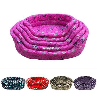 Soft Cozy Sweet Pet Kitten Puppy Cat Dog Sofa Bed Cushion Couch Basket Mat