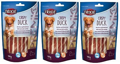 TRIXIE PREMIO Crispy Duck 3 x 100g Treats - Posted Today if Paid Before 1pm