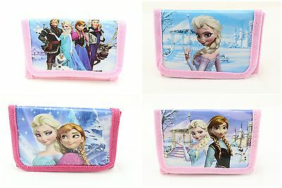 wholesale lot 24 pieces Anna Elsa frozen cartoon girl's coin purses wallets