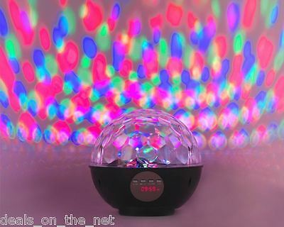 Intempo Bluetooth Disco Globe Speaker EE1152 Pair & Party Dance Light Gift