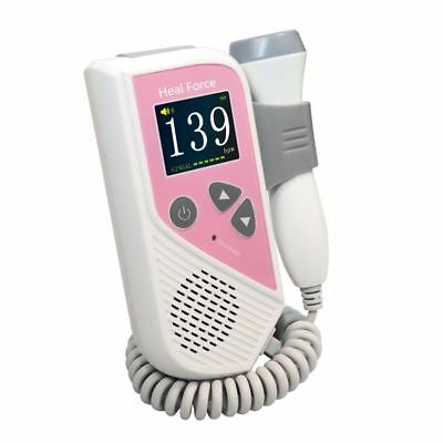 Heal Force Prince 200B Fetal Doppler - Colour LCD screen With Dual Display