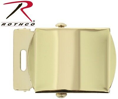 Web Belt Buckle Brass Plated Closed Face For Military Web Belts Rothco 4400 597d9fb0327