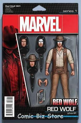 Red Wolf #1 (2016) 1St Printing Christopher Action Figure Variant Cover Marvel