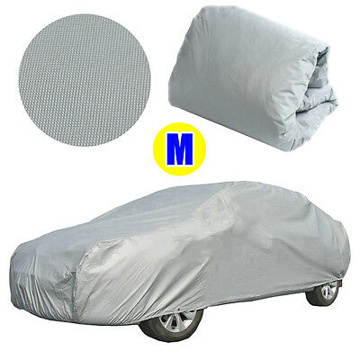 Universal Full Car Cover Anti Sun UV Dust Scratch Resistant Vehicle Protector AU