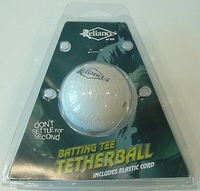 "Reliance Batting Tee  Tetherball Rubber 9"" *new*"