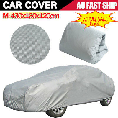 XXL Large Universal Full Car Cover Anti UV Dust Scratch Resistant Protection HOT