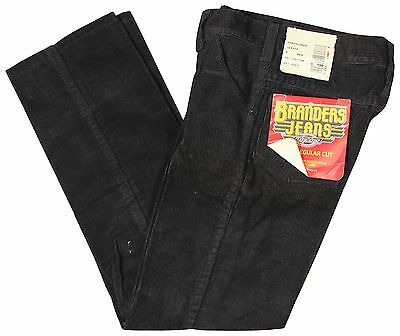 NEW VTG 90s DICKIES Boys CORDUROY JEANS Size 8 Black Pants Deadstock NWT NOS