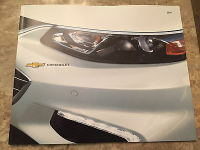 "2016 CHEVY ""Full Line"" 46-page Original Dealer Brochure"