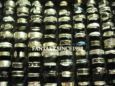 wholesale bulk mixed stainless steel rings stock reduced price closeouts sale