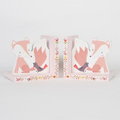 Children's Bookends Fox Woodland Friends Bedroom Decor by Sass & Belle