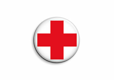 Divers - Croix Rouge 1 - Badge 56mm Button Pin