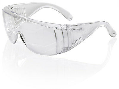 B Brand BOSTON Visitor Safety Glasses Spectacles Eye Protection BBBS