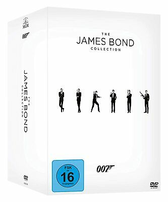 James Bond 007 Collection 24 Film Collection Inkl. Spectre Dvd Englisch