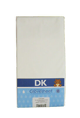 DK Waterproof Soft Cot Fitted Sheet 100% Cotton With Polyurethane Centre Panel