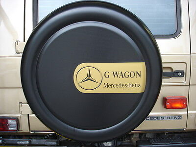 MERCEDES G-WAGEN/WAGON 4x4 SEMI-RIGID SPARE WHEEL COVER WITH LOGO