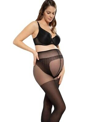 40 Denier Comfortable Semi Opaque Maternity Tights for Pregnancy, Gatta Body Pro