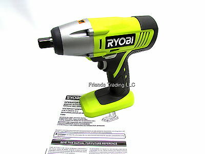 Ryobi 18 Volt 18v Cordless Lithium Ion Or Nicd Impact Driver 1 2 Wrench