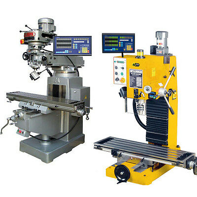 2 Axis Dro Package For Mill Bridgeport With Linear Glass Scales Free Shipping