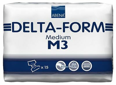 Delta-Form M3, 4 x 15 St.