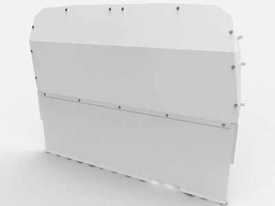 Van Guard Full Solid Steel Bulkhead for Ford Transit MK6/7 (00-14) [Double Cab]