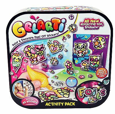 Giochi Preziosi 70140701 - Gelarti Activity Set Metallfolie Folie Metall Sticker