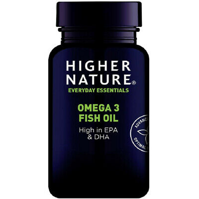 Higher Nature Omega 3 Fish Oil 180