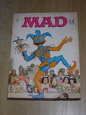 MAD Magazine No 73
