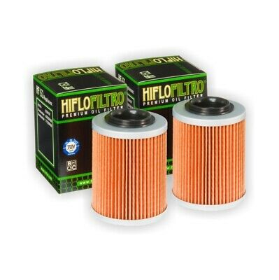 HI-FLO OIL FILTER 2PK FOR CAN AM 400 450 500 570 650 800 1000 Outlander Renegade