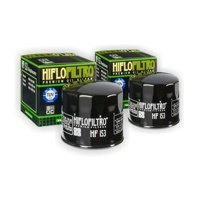 HI-FLO OIL FILTER 2 PACK FOR DUCATI 600 620 659 695 750 Monster Multistrada Dark