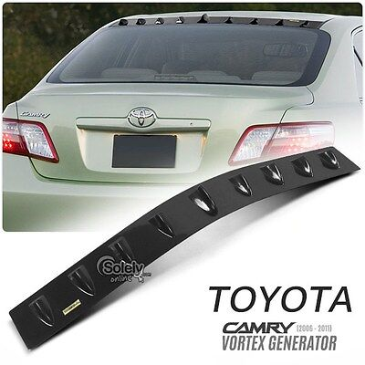 (New) For TOYOTA Camry 2006-2011 Glossy Black Car Roof Vortex Generator Spoiler