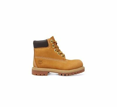 """Timberland 6"""" Inch Infants Kids Boys Girls Leather Lace Waterproof Premium Boots"""
